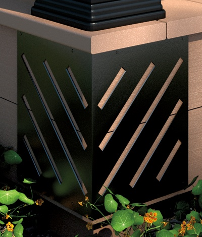 Decorative #fascia corners from #Deckorators are easy to ...