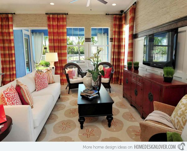 Top 25 Best Tropical Living Rooms Ideas On Pinterest