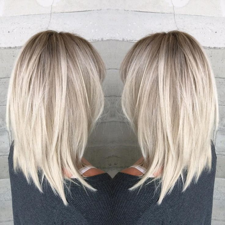 10 stilvolle & süße Lob Haarschnitt Ideen, schulterlang Frisuren 2019