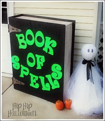 Homemade Outdoor Halloween Decorations   Creative Yard Decorating Ideas!