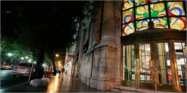 ponce puerto rico - Santander Bank entrance at the main plaza, formerly known as Banco Credito y  Ahorro Ponceno.