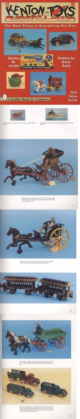 Cast Iron 721: Antique Kenton Cast Iron Toys Collector Guide Incl Banks Stoves Cars And More -> BUY IT NOW ONLY: $39.95 on eBay!
