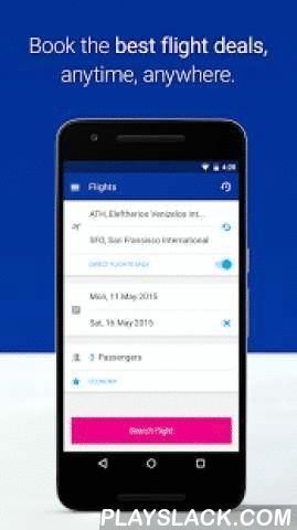 Airtickets  Android App - playslack.com ,  airtickets®Now, wherever you are, a quick and convenient way to book your trip. Just a click away and the journey begins from your phone!Set your travel dates and requirements, see the available flights and cheapest fares, and complete your booking in just a few clicks. The most convenient way to purchase your flight tickets is now available at the palm of your hand! Features of the Android app:• Search and book Flight• Online Check-in• Book Hotel•…