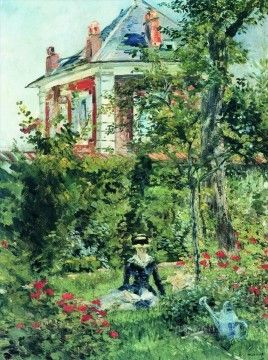 Edouard Manet Painting - The Garden at Bellevue Eduard Manet