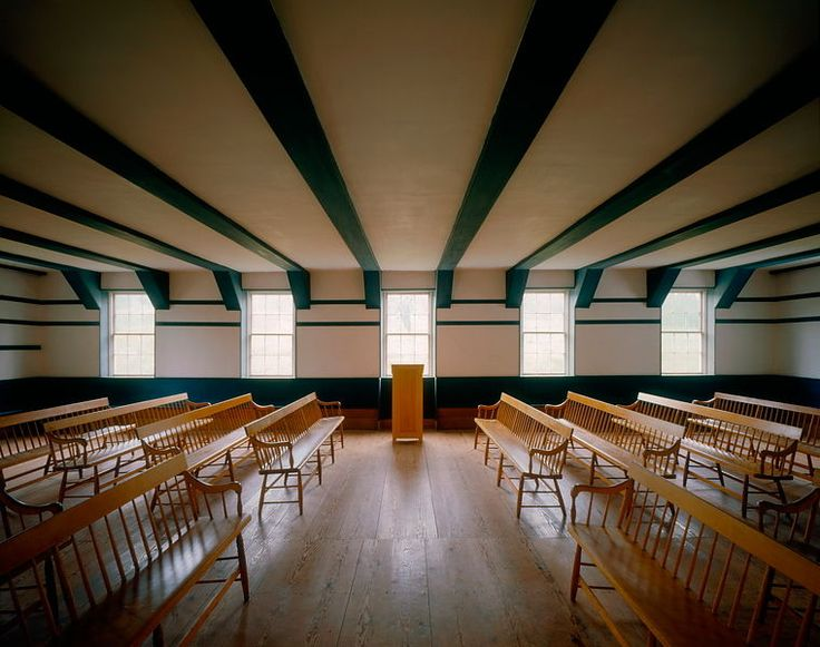 Chapter 15 Meeting Room Community Meetinghouse