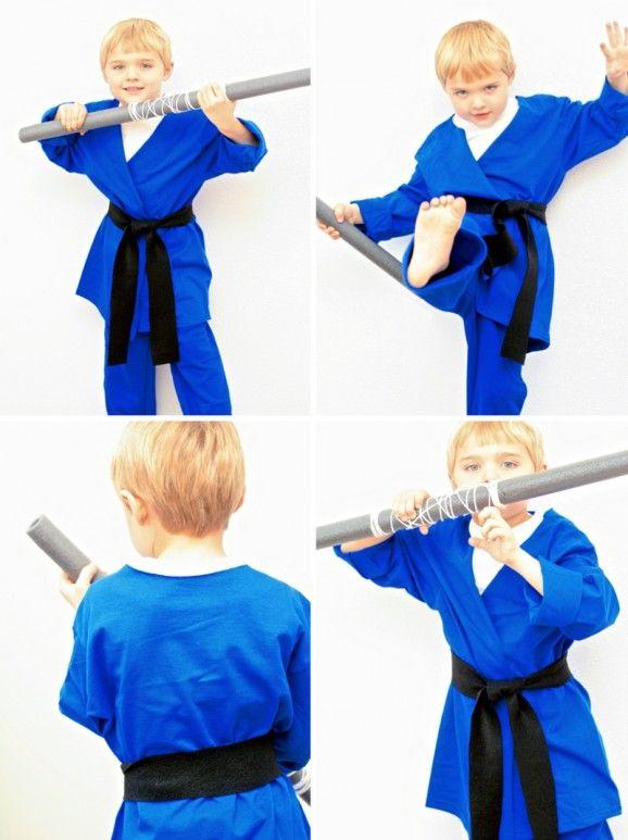 No-Sew Ninja Costume | Paging Supermom