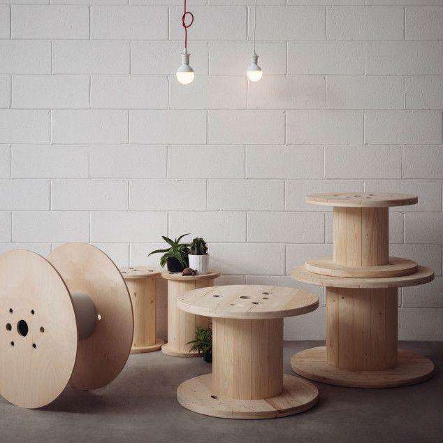 Souvent Oltre 25 idee originali per Bobine di legno su Pinterest | Bobine  ZF49