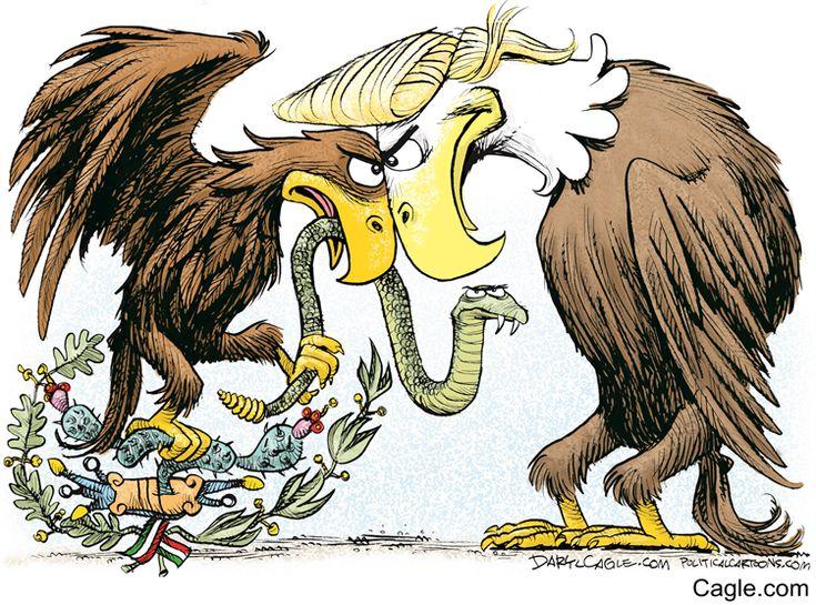 USA vs Mexico   DarylCagle.com