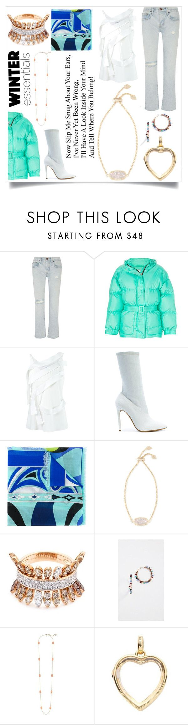 """""""You either know fashion or don't"""" by emmamegan-5678 ❤ liked on Polyvore featuring Current/Elliott, Ienki Ienki, Gloria Coelho, Yeezy by Kanye West, Emilio Pucci, Kendra Scott, FerrariFirenze, Rebecca Minkoff, Loquet and modern"""