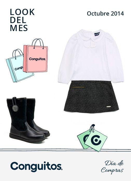 Hoy en el Blog de Conguitos el total look de octubre! Es el momento de escoger uno de modelitos para tu peque estrene la temporada   Descúbrelo aquí --> http://www.conguitos.es/es/blog/dia-compras/