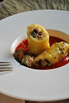 La Cucina di Stagione: Strudel alle patate con frutti di mare