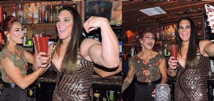 Cris Cyborg Justino and Gabi Garcia = spectacular greatness in the same picture!!