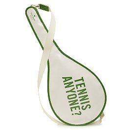 kate spade tennis bag: Kate Spade Tennis, Spade Racquet, Tennis Anyone?, Tennis Bags, Racquet Bags, Court Side, Katespade, Tennis Racquet, Plays Tennis