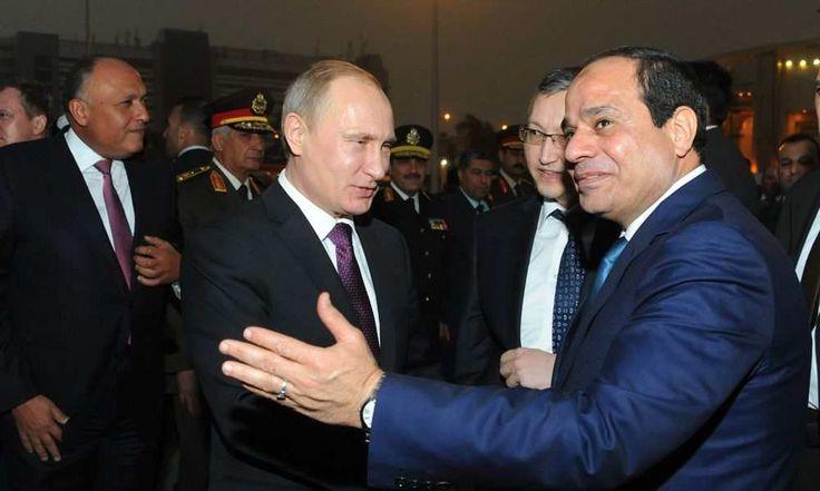 Αίγυπτος: Αποκτά πυρηνικό σταθμό με τη βοήθεια της Ρωσίας: Η Ρωσία και η Αίγυπτος ενδέχεται πολύ σύντομα να υπογράψουν το συνολικό πακέτο…