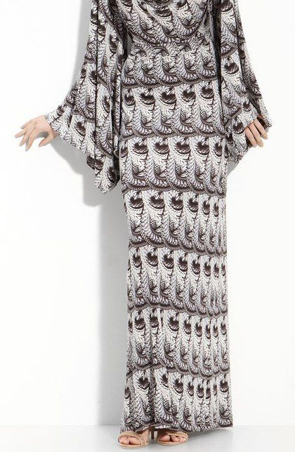 NEW $698 Anthropologie Leifsdottir Python Print Maxi Dress Size 6