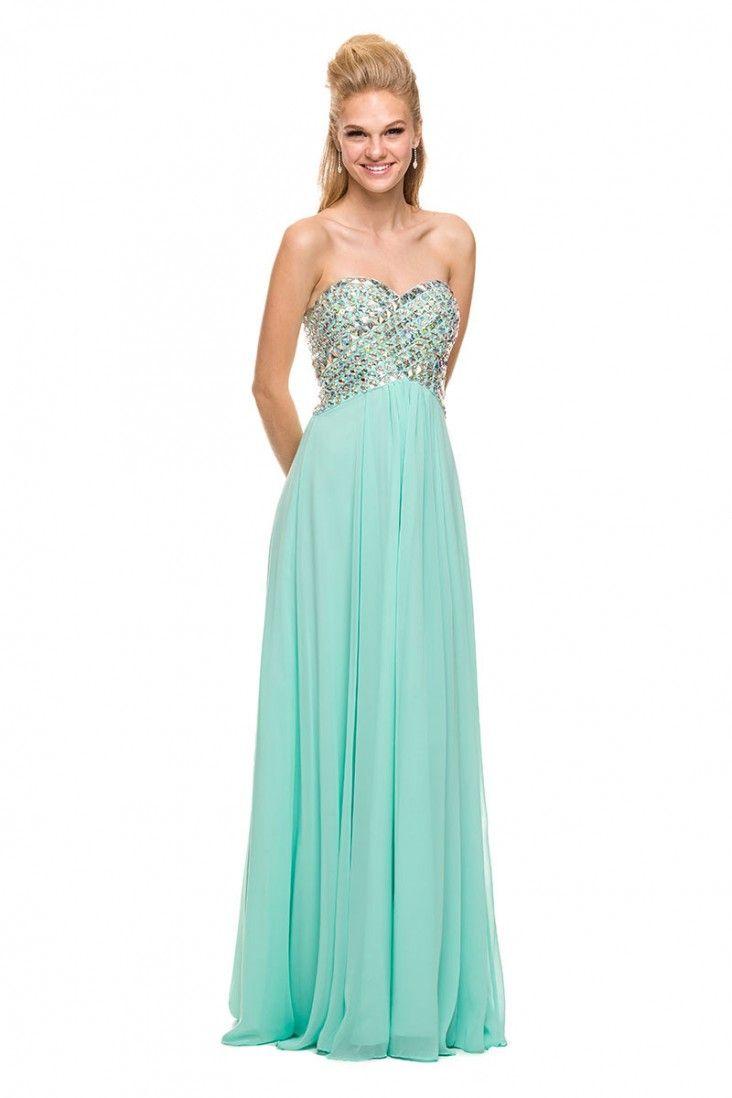 135 best Glam Prom Dresses images on Pinterest | Ballroom dress ...