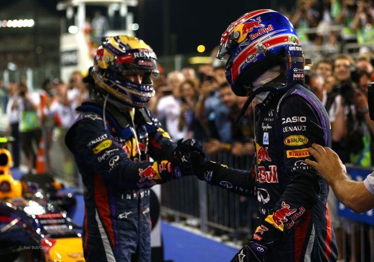 Sebastian Vettel, Mark Webber, Red Bull, Yas Marina, 2013