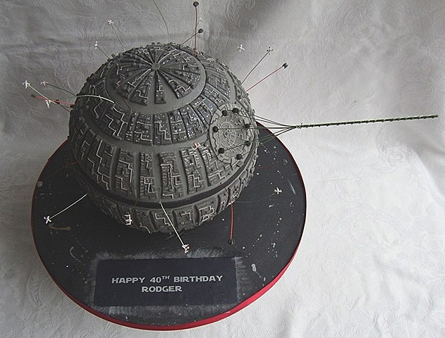 Death Star Cake by Official Star Wars Blog, via Flickr