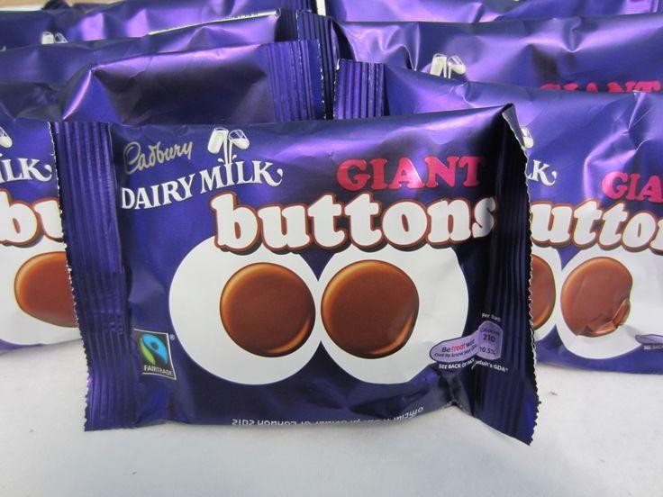 Jolly Good Candy Stop Calgary - Cadbury Chocolate Giant Buttons, $3.25 (http://www.jollygoodscandy.com/cadbury-chocolate-giant-buttons/)