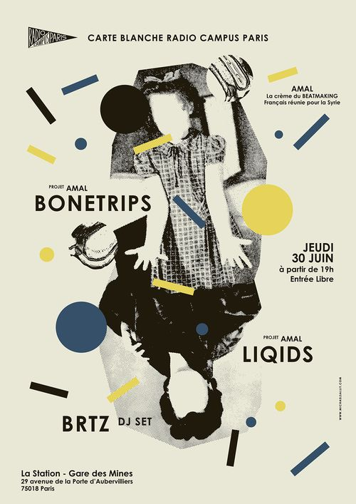 Carte Blanche à Radio Campus Paris : Projet AMAL : Bonetrips +