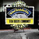 INK361 Instagram album: Karangan bunga duka cita
