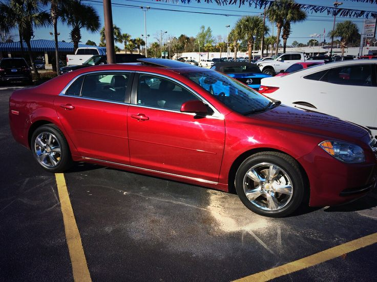 2011 #Chevy #Malibu only 19k miles, fully loaded including moonroof, Bose sound system, heated seats, Bluetooth, NICE 850-276-6425