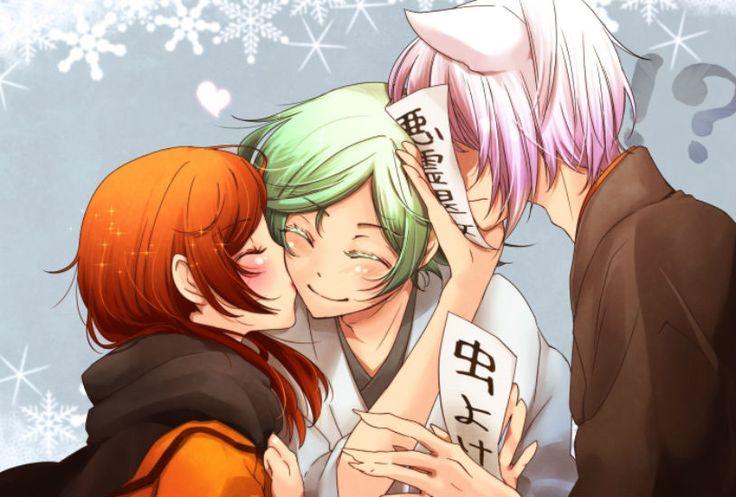 Nanami x Mizuki x Tomoe ~ Kamisama Kiss