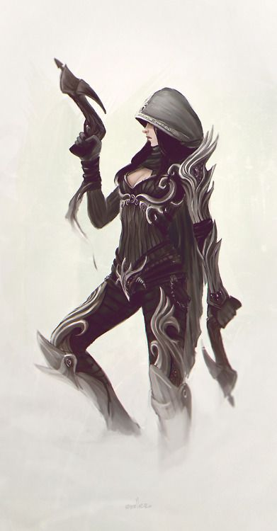 Diablo 3. My Demon Hunter in D3 is named Panthera (the latin name for a member of the cat family - a hunter).