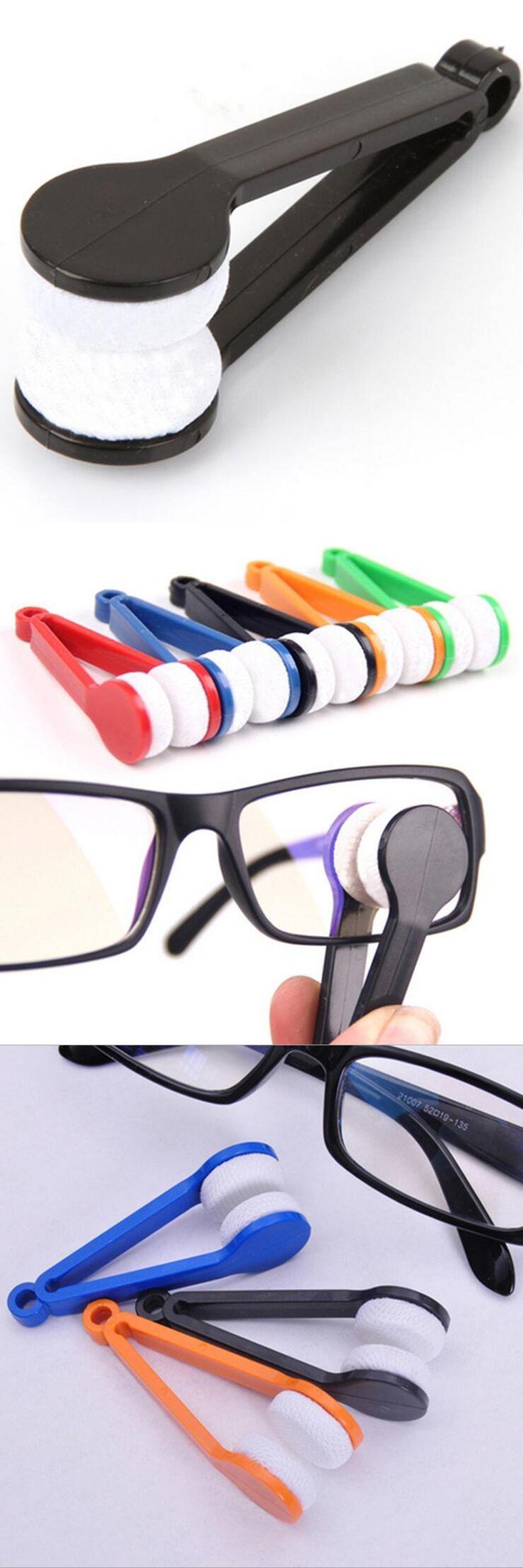 2017 Brand New Creative Mini Microfibre Glasses Cleaner Spectacles Sunglasses Eyeglass Clean Wipe Tools Mini Portable XHH05323