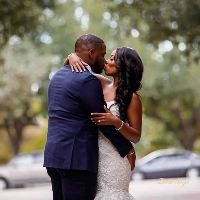 The forever kiss of love. #BellaNaijaBridesmaids Love at First Sight! Lola and Noble's Yoruba-Igbo Wedding in Texas Wedding Planner: @touch_of_jewel Photographer: @bomaonephotography More on www.bellanaija.com/weddings or the link in our bio #BellaNaijaWeddings Wedding Planner: @touch_of_jewel Photographer: @bomaonephotography Makeup: @mscreativediva Videographer: @innovativevision MC: @kingdrewwskyy DJ: @djexpression Venue: @marriottquorum_dallas
