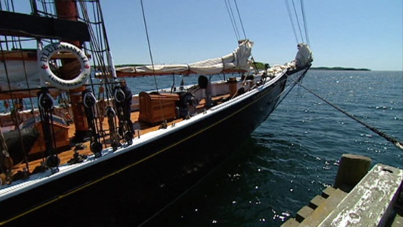 The beautiful Bluenose Schooner, an icon of Nova Scotia, where I spent most of my life! I miss this place!