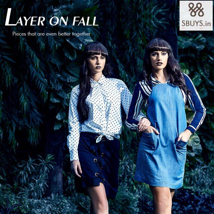 Layer on Fall #fallfashion2015 #sbuys http://www.sbuys.in/