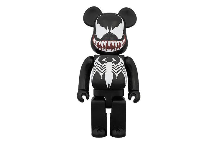 Marvel x Medicom Toy 400% Venom Bearbrick