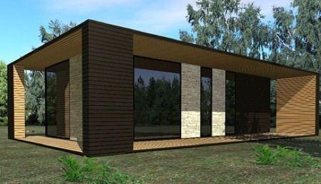 20 daum housing - Maison bois et pierre ...