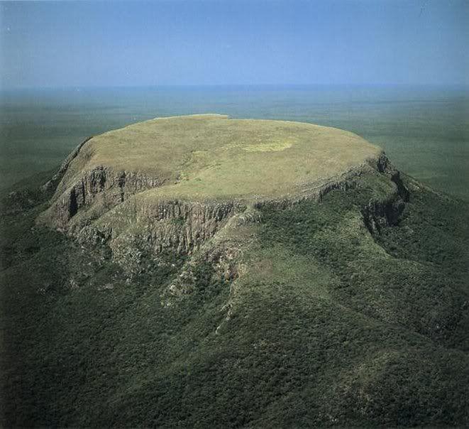 Monte San Miguel en Sureste de Bolivia (Santa Cruz frontera con Paraguay):