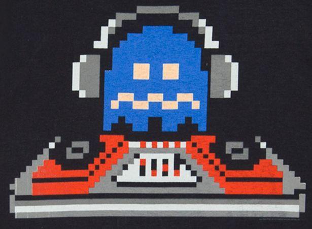 pac-man ghost dj. #dj #djart #djculture #pacman http://www.pinterest.com/TheHitman14/dj-culture-vinyl-fantasy/