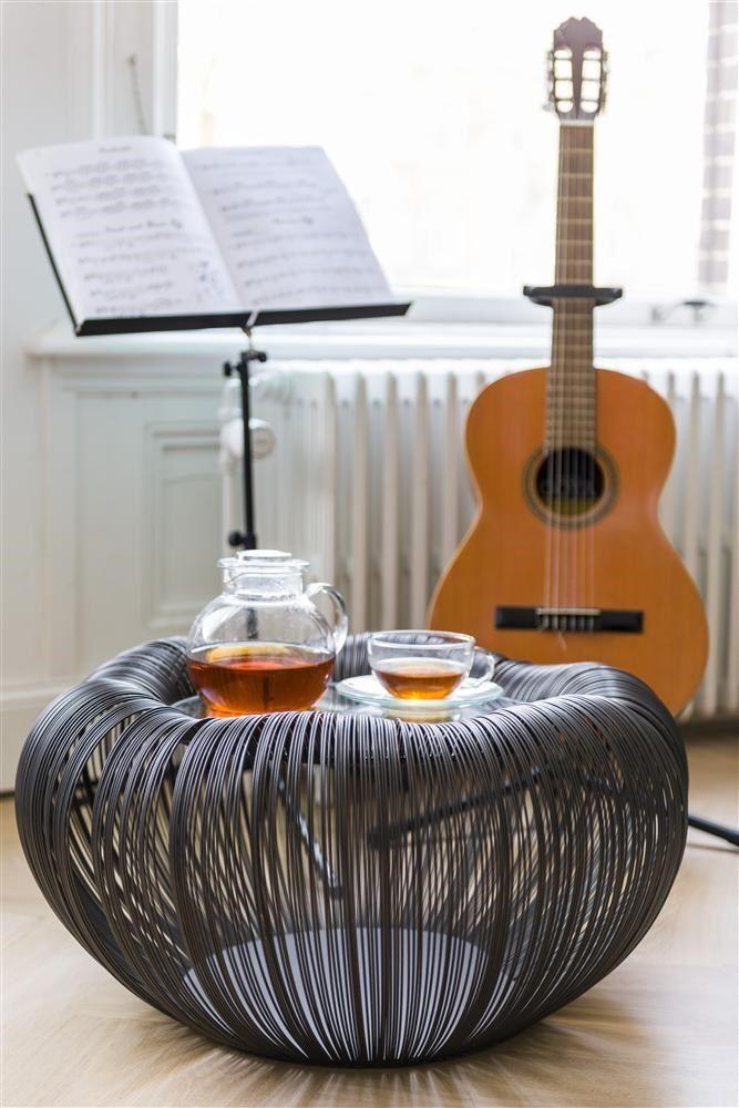 Bijzettafel Gina - COCO maison, gemaakt van draadstaal