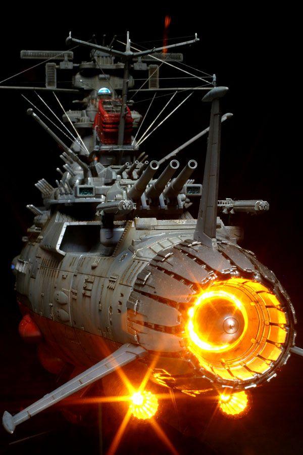 バンダイ宇宙戦艦ヤマト2199にはLED発光ユニットが別売りで設定されていて、「ココ光らせたらカッコ良いよ」的にクリアパーツが組み込まれてる。前作では、模...