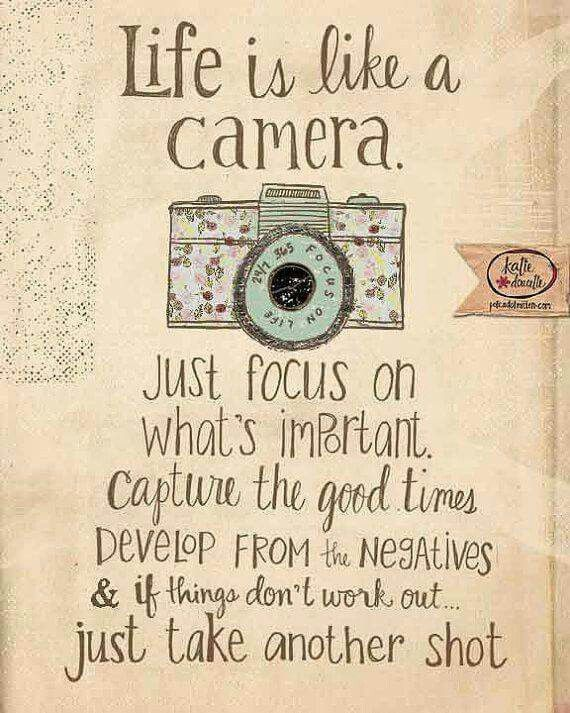 What you focus on what's important...