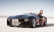 BMW #Oscaro.com Pieces Auto. Avec le Chatterton sur les phares, la 328 Hommage évoque le sport automobile à l'ancienne.