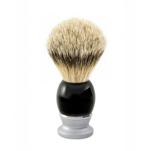 Edwin Jagger Riva Imitation Ebony Super Badger Shaving Brush