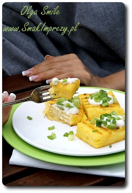 Grillowana polenta - przepis | Kulinarne przepisy Olgi Smile
