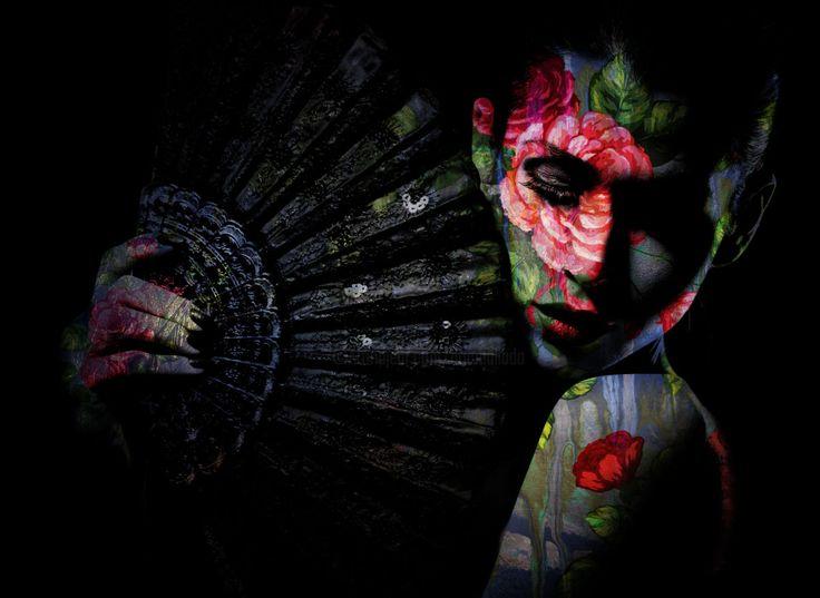Tango (Digital Arts) by Dodi Ballada Tango, digital painting by Dodi Ballada