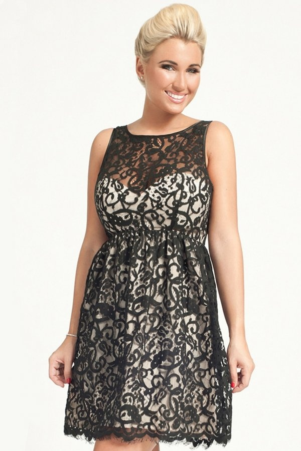 Perfect dress for your curves this Christmas and ideal for parties and weddings alike