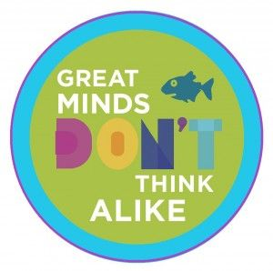 """""""Great minds don't think alike"""" and other favorite quotes from Fish in a Tree by Lynda Mullaly Hunt"""