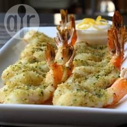 Camarão empanado de forno @ allrecipes.com.br