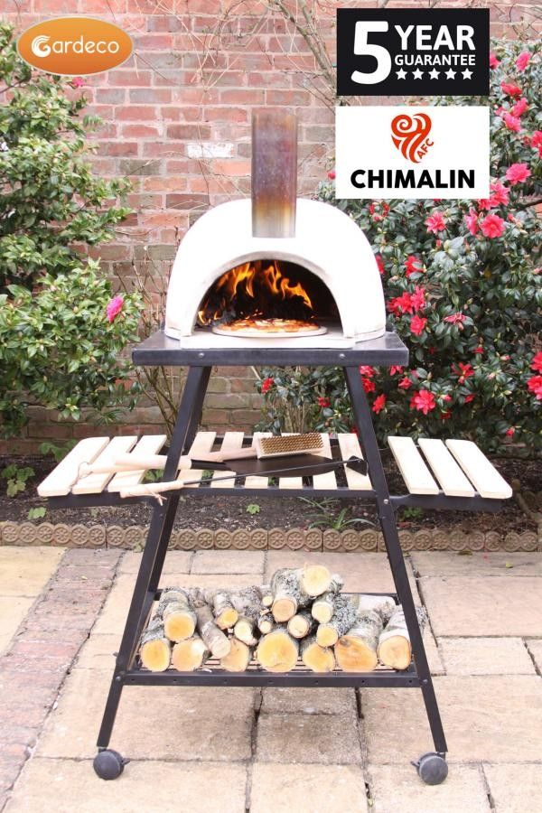 Gardeco Pizzaro Chimalin AFC Pizza Oven (Including Stand)