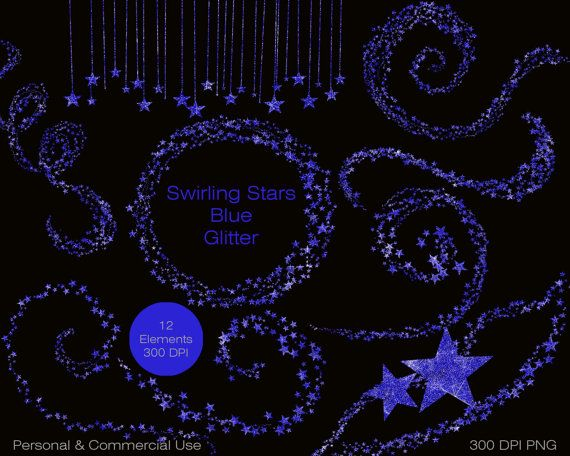 ROYAL BLUE GLITTER SHIMMER STARS CLIP ART: Have fun creating with this Set of GLAM BLUE STARS CLIPART  For personal and COMMERCIAL USE! No strings attached! Our clipart can be used for anything, any purpose. No need to ask! The ONLY thing not allowed, is to redistribute, share, or sell the actual clip art images as they are purchased. YOU WILL RECEIVE BLUE STAR Images as shown: - BLUE SHIMMER STAR GRAPHICS- 12 Pieces each saved as a 300 dpi PNG file, with a transparent background  2…