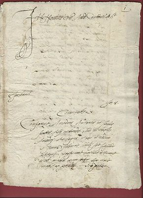 """Antique Manuscript Illuminated 1544 Renaissance Florence Property Allocation     """"Very rare contract between three brothers in the Renaissance Florence. Good conditions."""" Price:US $69.00 Buy It Now Best Offer:  Make Offer"""