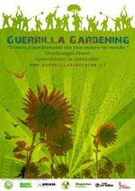Guerrilla gardening, giardinaggio libero d'assalto, riprendiamoci le città soffocando il cemento con lo spontaneismo verde.